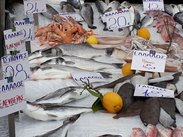 Fischmarkt in Thessaloniki