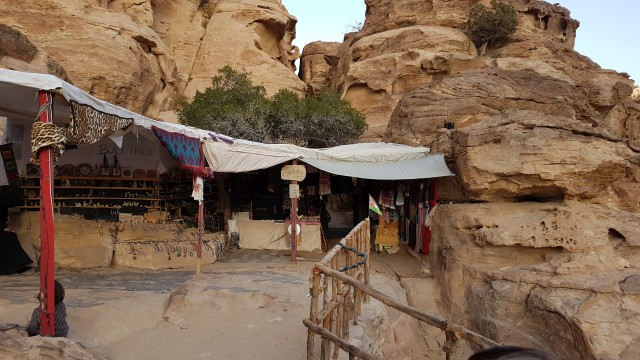 Jordanien - Little Petra - Shop