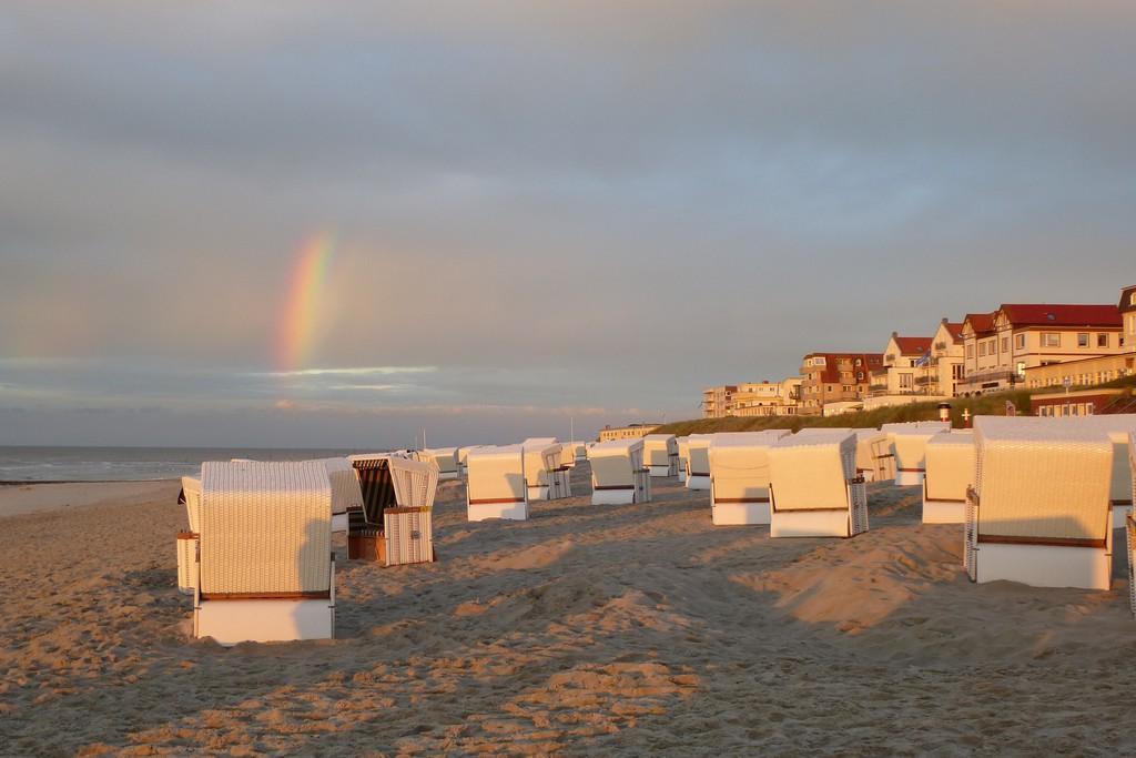Strandkörbe auf Wangerooge