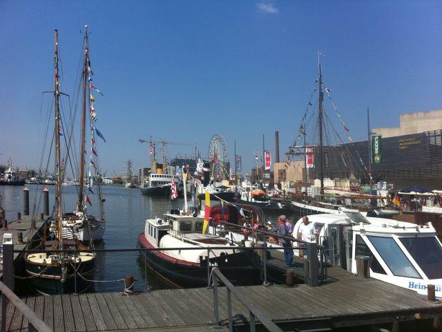 Alter Hafen in Bremerhaven