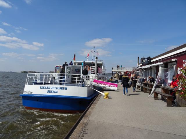 Anleger in Blankenese an der Elbe