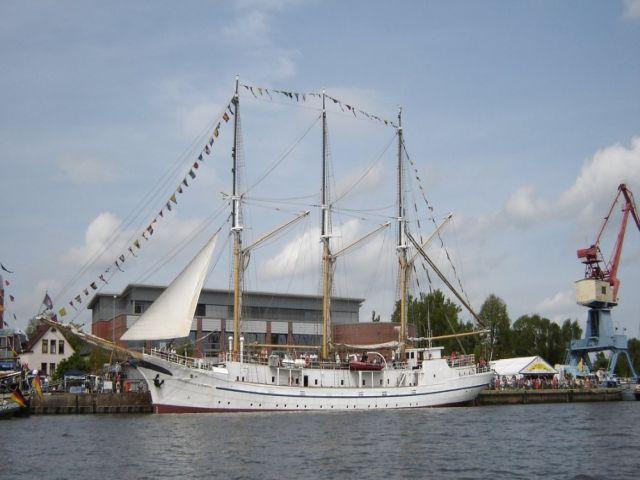 Segelschiff Großherzogin Elisabeth in Elsfleth