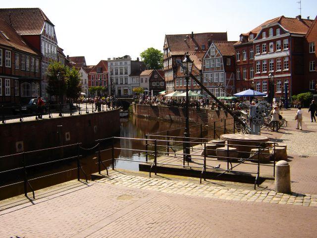 historischer Hafen Stade